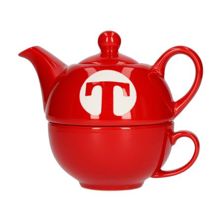 Mount Everest Tea - zestaw do herbaty Tea For One Capital T czerwony