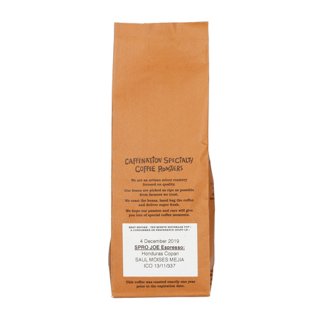 Caffenation - SPRO JOE Honduras Copan Saul Moises Mejia Xmass Espresso