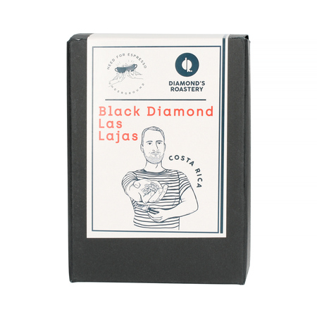 Diamonds Roastery Costa Rica Las Lajas Black Diamond Natural FIL 200g, kawa ziarnista (outlet)