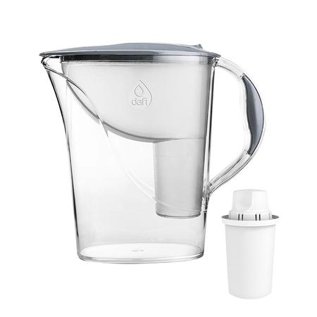 Dafi - Dzbanek filtrujący Atria 2,4l + 1 filtr Classic - Stalowy