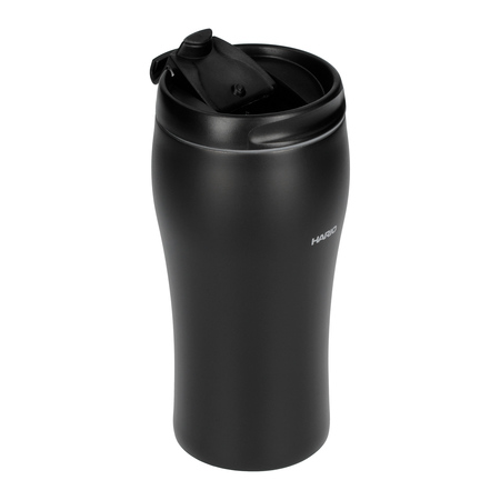 Hario V60 Uchi Mug - Kubek Termiczny czarny gładki - 350ml