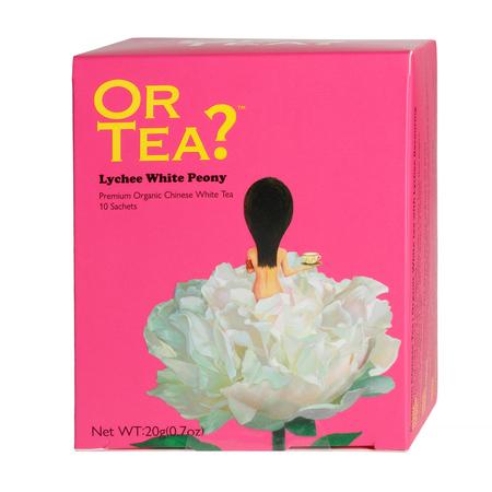 Or Tea? - Lychee White Peony - Herbata 10 Torebek