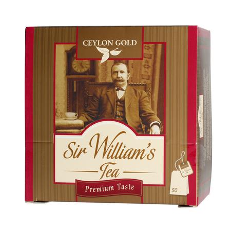 Sir William's - Ceylon Gold - Herbata 50 saszetek