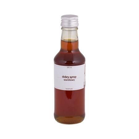 Mount Caramel Dobry Syrop - Wanilia 200 ml
