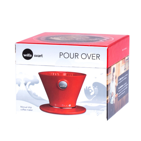 Wilfa Pour Over Red - WSPO-R - Czerwony Dripper