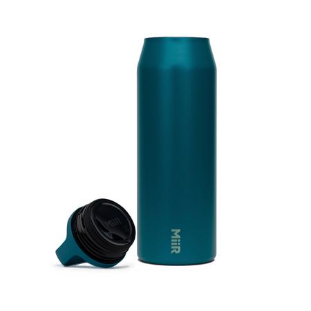 MiiR - Wide Mouth Bottle Turkusowa - Butelka termiczna 950 ml