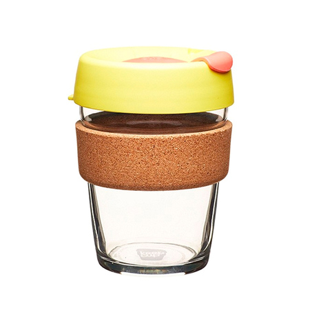 KeepCup Brew Cork Saffron 340ml