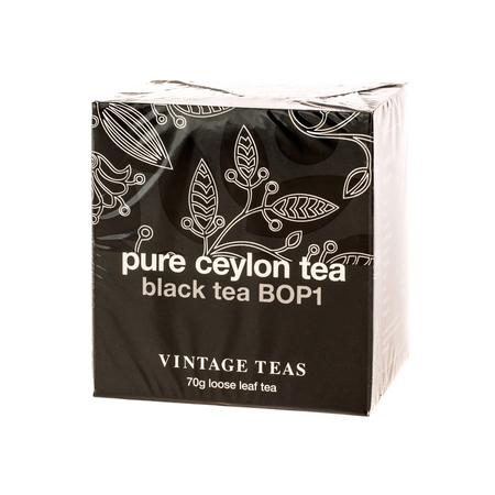 Vintage Teas Pure Ceylon Tea - Black Tea BOP1 70g