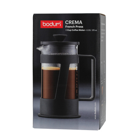 Bodum Crema French Press 3 cup - 350 ml Czarny