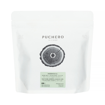Puchero Coffee - Indonesia Kerinci Gunung Tujuh Honey Omniroast