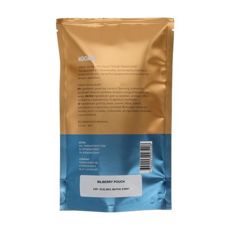 Teministeriet - Moomin Green Tea Bilberry - Herbata sypana 100g - Opakowanie uzupełniające