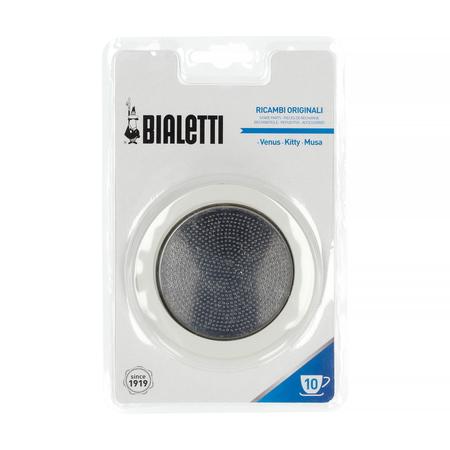 Bialetti - Uszczelka + sitko do kawiarek stalowych Bialetti 10tz