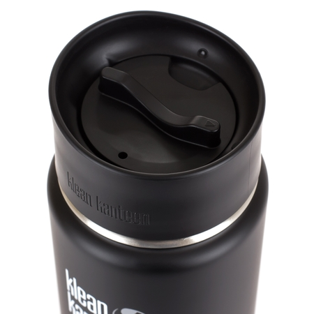 Klean Kanteen Wide Insulated Shale Black 473ml - Czarny mat