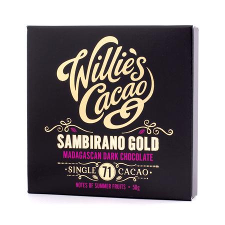 Willie's Cacao - Czekolada 71% - Sambirano Gold Madagaskar 50g