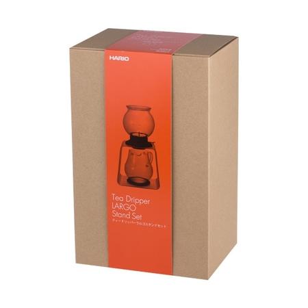 Hario Largo Tea Dripper Set - Zaparzacz do herbaty ze stojakiem