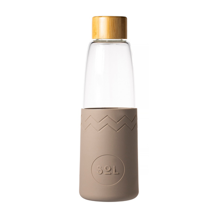 Sol - Piaskowa butelka + Wycior + Etui