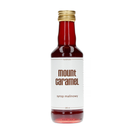 Mount Caramel Dobry Syrop - Malinowy 200 ml