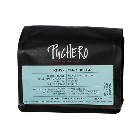 Puchero Coffee - Kenya Tano Ndogo Espresso