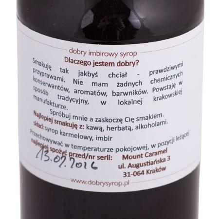 Mount Caramel Dobry Syrop - Imbir 500 ml
