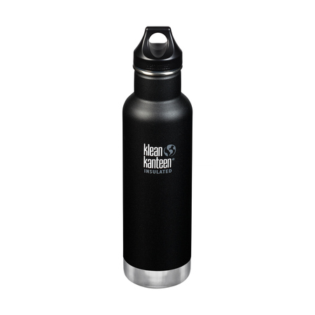 Klean Kanteen - Butelka termiczna Classic Vacuum Insulated - Shale Black 592ml