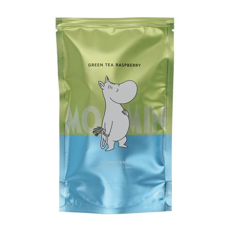 Teministeriet - Moomin Green Tea Raspberry - Herbata sypana 100g - Opakowanie uzupełniające