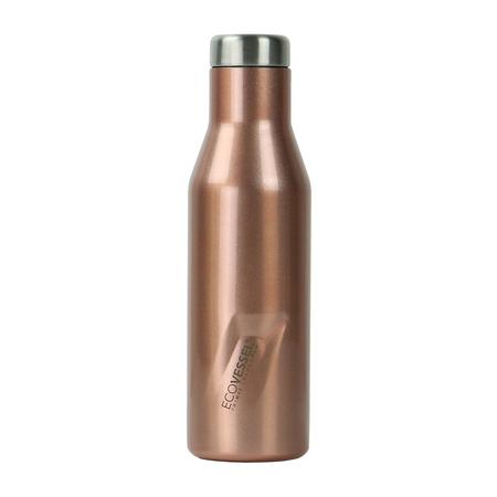 EcoVessel - Butelka termiczna Aspen - Różowe złoto 473 ml