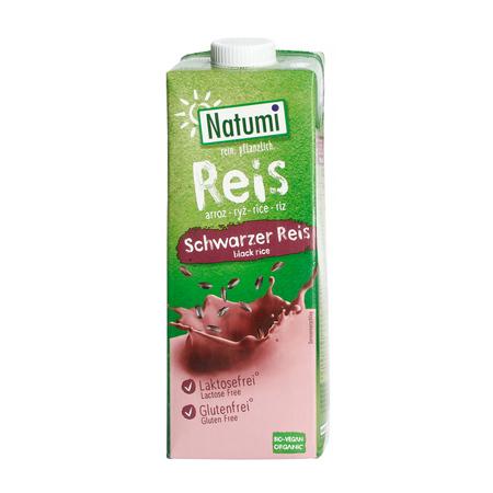 Natumi - Napój z czarnego ryżu bez dodatku cukru bezglutenowy 1L