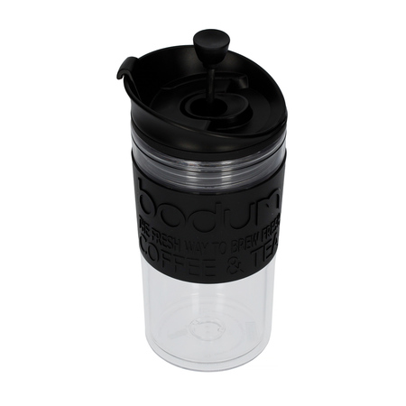 Bodum Travel Press Set 350 ml - Czarny (outlet)