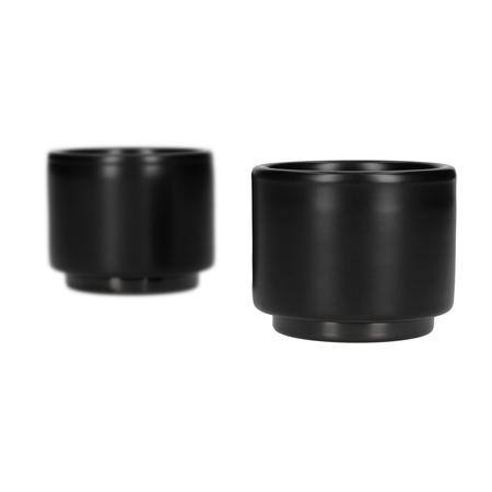 Fellow Monty Espresso - Kubek czarny 90 ml - 2 sztuki