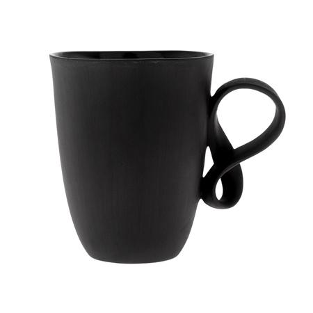 ENDE - Filiżanka 170ml - Mobius z czarnej porcelany