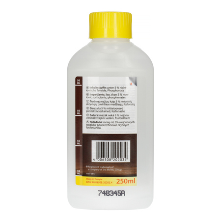 Melitta Perfect Clean Liquid - Płyn do czyszczenia obwodów mleka 250 ml