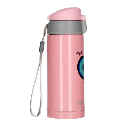 Asobu - Peek-a-Boo Różowy - Butelka termiczna 200 ml