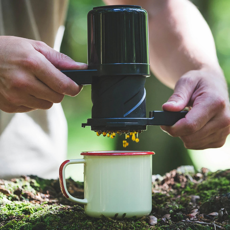 Barista & Co - Twist Press Compact Coffee Maker Black