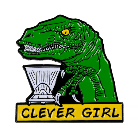 Department of Brewology - Przypinka Clever Girl