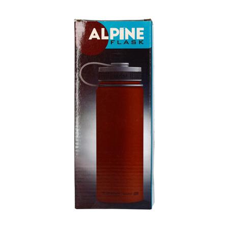 Asobu Alpine Flask 530ml Chocolate (outlet)