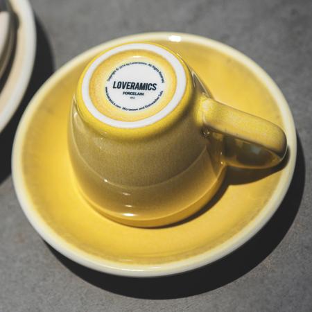 Loveramics Egg - Filiżanka i spodek Cappuccino 200 ml - Butter Cup