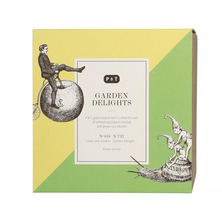 Paper & Tea - Zestaw - Garden Delights Set