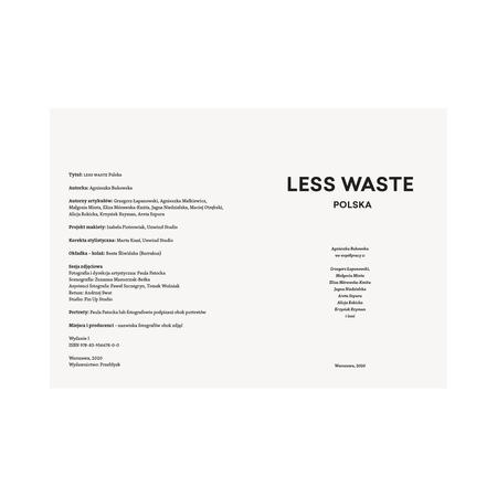 Książka Less Waste Polska - Agnieszka Bukowska