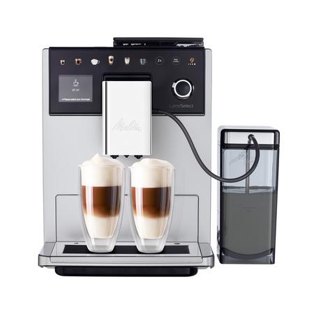 Melitta LatteSelect Srebrno-Czarny - Ekspres ciśnieniowy