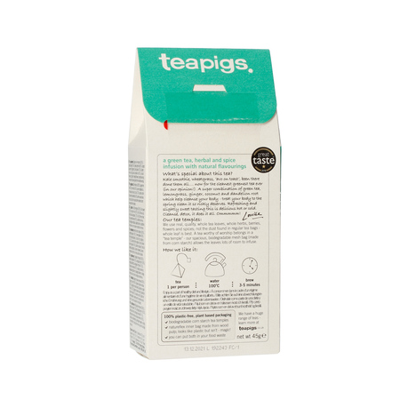 teapigs Cleanse - Detox Tea 15 piramidek