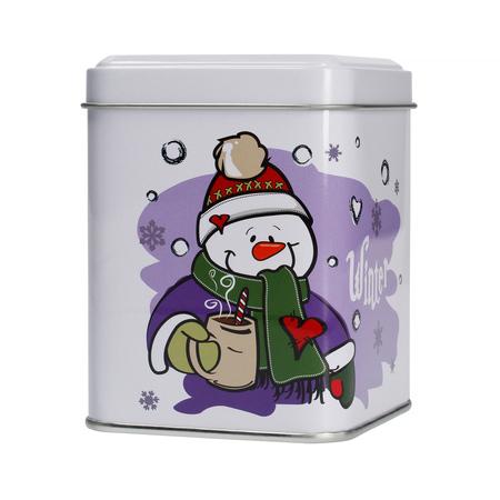 Mount Everest Tea - Świąteczna puszka na herbatę - Snowman 100g
