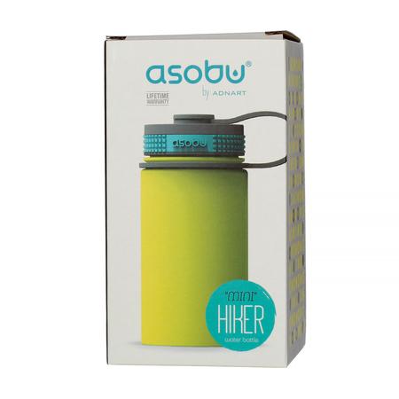 Asobu Mini Hiker Water Bottle 355ml Lime (outlet)