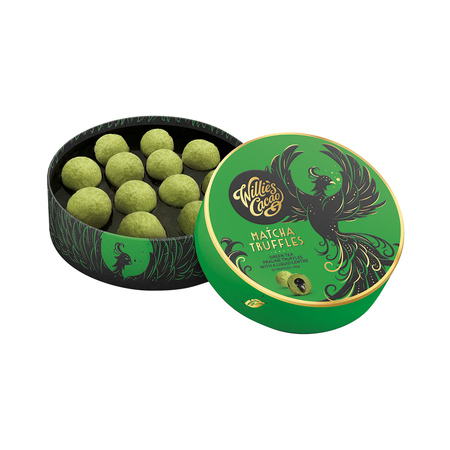 Willie's Cacao - Trufle- MATCHA  TRUFFLES 110g (outlet)