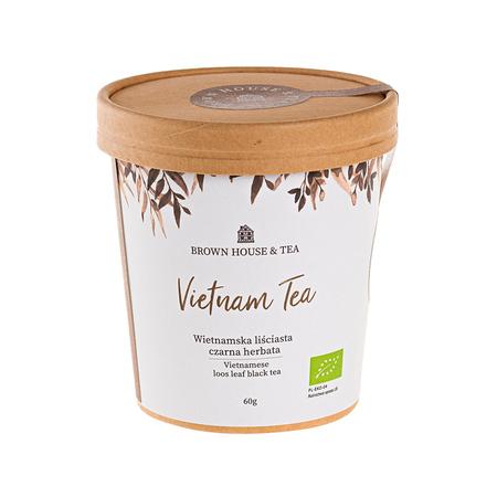 Brown House & Tea - Vietnam Tea Czarna - Herbata sypana 60g
