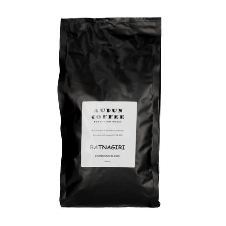 Audun Coffee - India/Kenya Blend Espresso 1kg