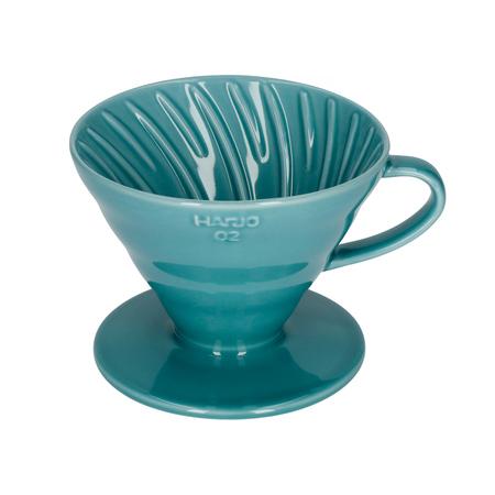 Hario ceramiczny Drip V60-02 Turkusowy