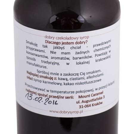 Mount Caramel Dobry Syrop - Czekolada 500 ml