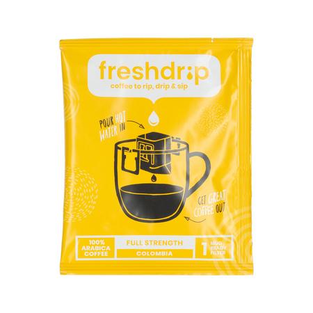 Freshdrip - Yellow Colombia Full-Strength - 7 saszetek