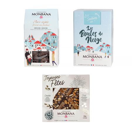 Zestaw Prezentowy: Trzy rodzaje czekoladek