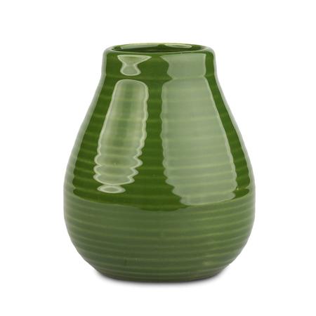 Mate Rustico - Ceramiczne  naczynie do yerba mate - Zielone